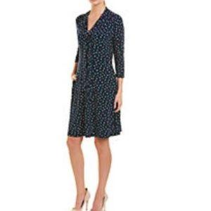 HP🎉 NWT Leota Scarf Polka Dot Dress (Medium)